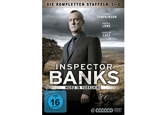 Inspector Banks - Staffel 1-3 - (DVD)