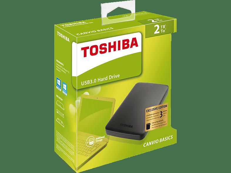 TOSHIBA Canvio Basics, 2 TB HDD, extern