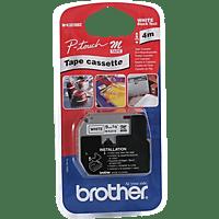 BROTHER M-K221S Schriftbandkassette schwarze Schrift auf weißem Band (M-K221S)