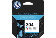 HP 304 Tintenpatrone Cyan/Magenta/Gelb (N9K05AE)