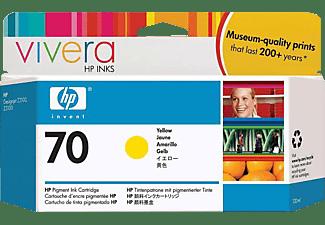 HP 70 Tintenpatrone Gelb (C9454A)