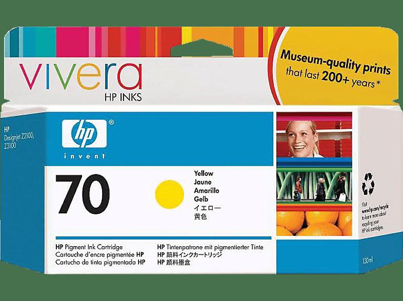 HP 70 Gelb