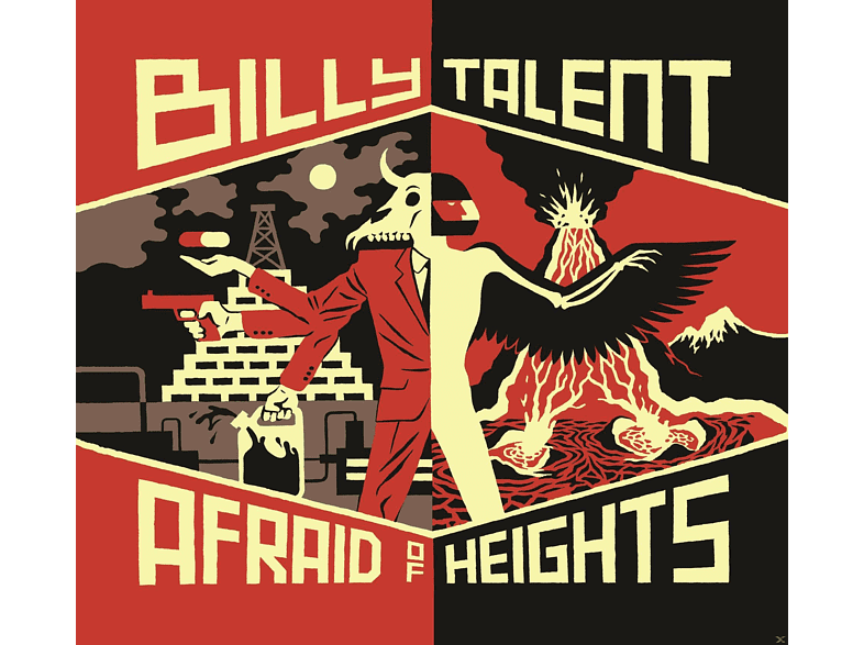 Billy Talent - Afraid Of Heights [CD]