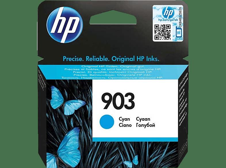 HP 903 Tintenpatrone Cyan (T6L87AE)