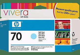 HP 70 Tintenpatrone Helles Cyan (C9390A)