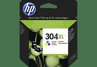 HP Tintenpatrone 304XL, cyan/magenta/gelb (N9K07AE#UUS)