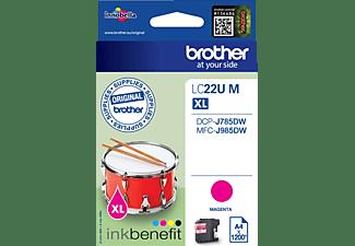 BROTHER Original Tintenpatrone Magenta (LC-22UM)