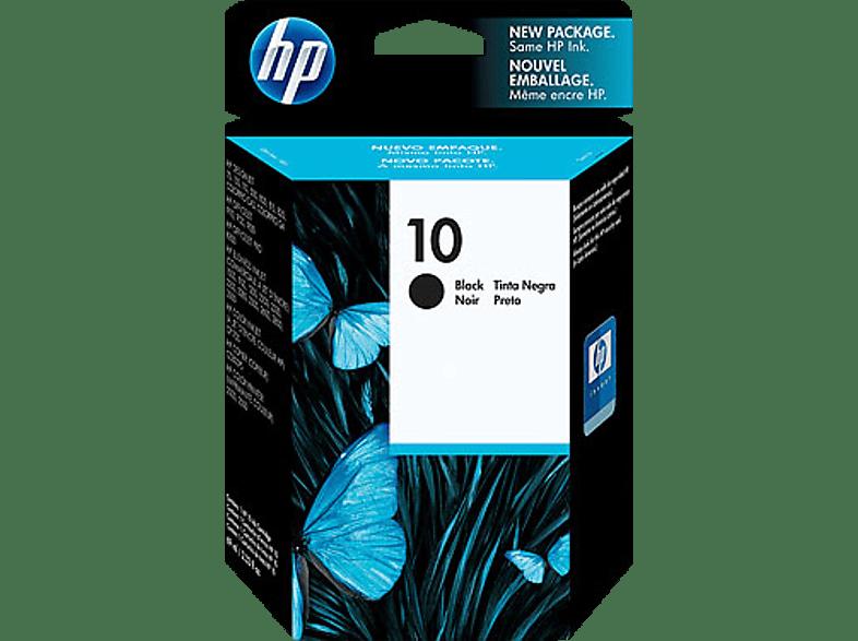 HP 10 Tintenpatrone Schwarz