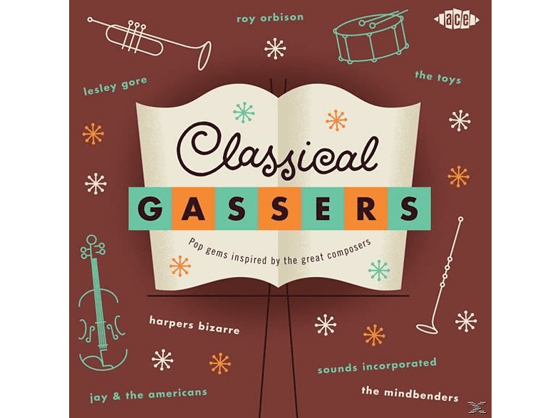 VARIOUS - Classical Gassers-Pop Gems Inspired By The Great [CD]