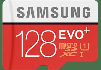 SAMSUNG MB-MC128DA-EU-21, Micro-SDXC Speicherkarte, 128 GB, 80 MB/s