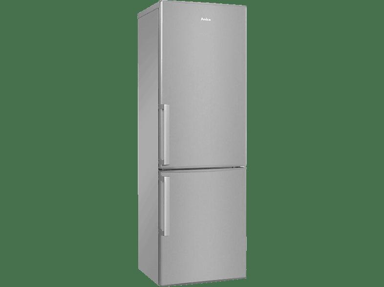AMICA KGC 15478 E  Kühlgefrierkombination (A++, 181 kWh/Jahr, 1702 mm hoch, Edelstahl)