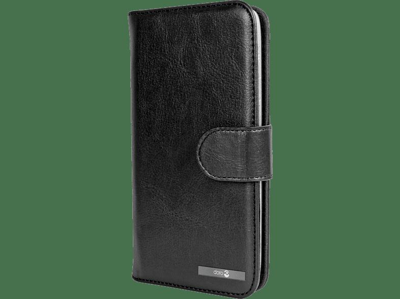 DORO Wallet Case Bookcover Doro Liberto 825 Kunstleder/Kunststoff Schwarz