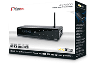 FANTEC 4KP6800 Media Player, Schwarz/Aluminum