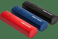 REALPOWER PB-T1 3er Pack Powerbank 3x 2600 mAh Rot/Blau/Schwarz