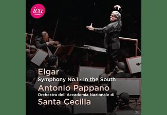 Orch.dell'Accad.Nazion.di Santa Cecilia, Pappano - Sinfonie 1/In The South  - (CD)