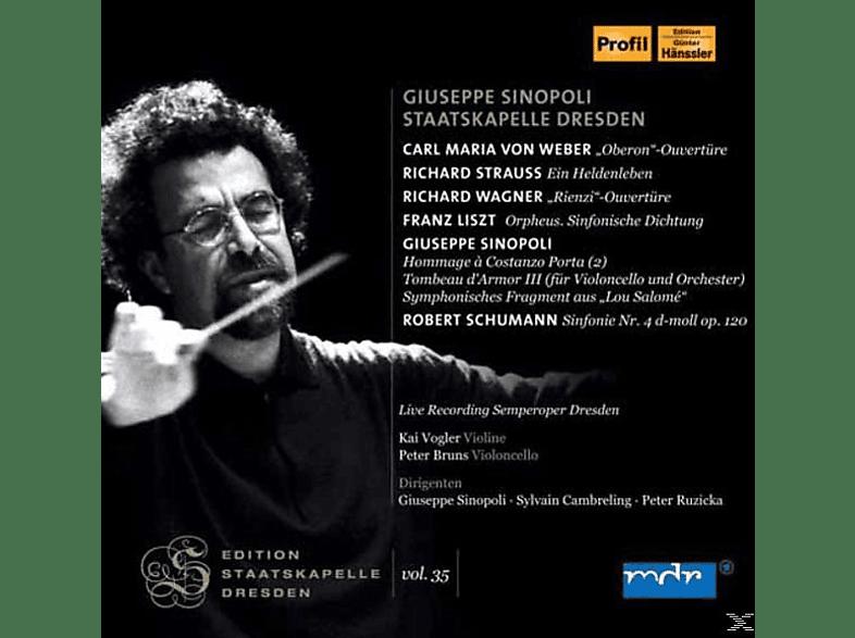 Staatskapelle Dresden - Giuseppe Sinopoli - Giuseppe Sinopoli & Staatskapelle Dresden [CD]