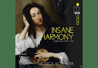 VARIOUS - Insane Harmony-englische Musik 1650-1700  - (CD)