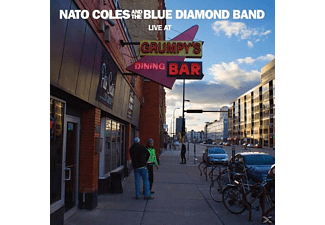 Nato -and The Blue Diamond Band- Coles - Live At Grumpy's - (CD)