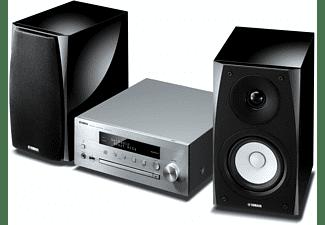 YAMAHA Kompaktanlage MusicCast MCR-N570D, mit DAB+, WiFi, Air Play, silber
