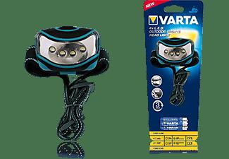 VARTA Stirnleuchte 4x LED Outdoor Sports Head Light 3AAA