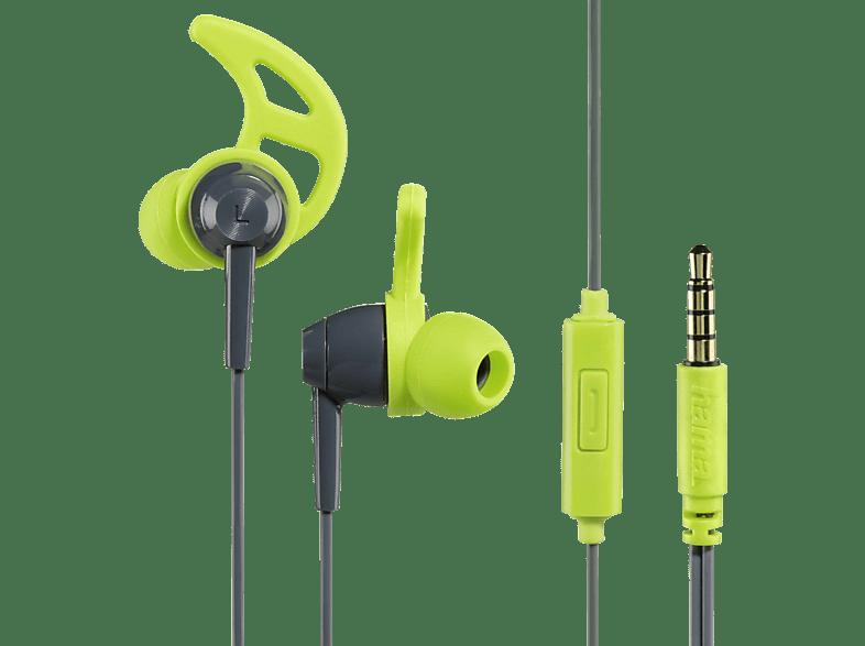 HAMA Action, In-ear Kopfhörer  Grau