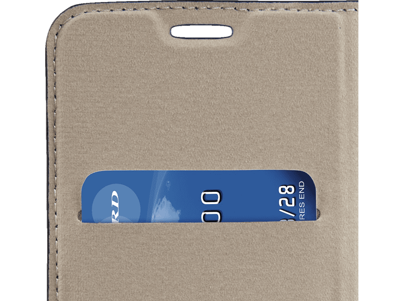 Hama Guard Case Bookcover Samsung Galaxy S7 Edge Kunstleder Schwarz