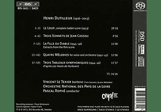 Vincent Le Texier - Lieder und Orchesterwerke  - (SACD)