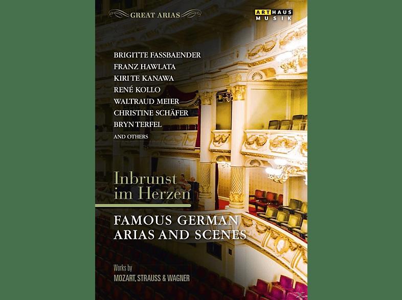 VARIOUS - Inbrunst im Herzen-Deutsche Arien [DVD]