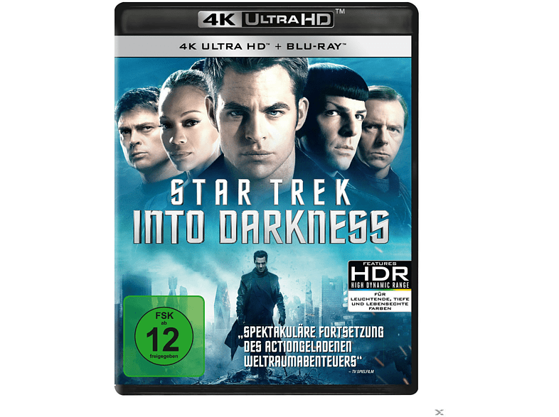 STAR TREK - Into Darkness [4K Ultra HD Blu-ray + Blu-ray]