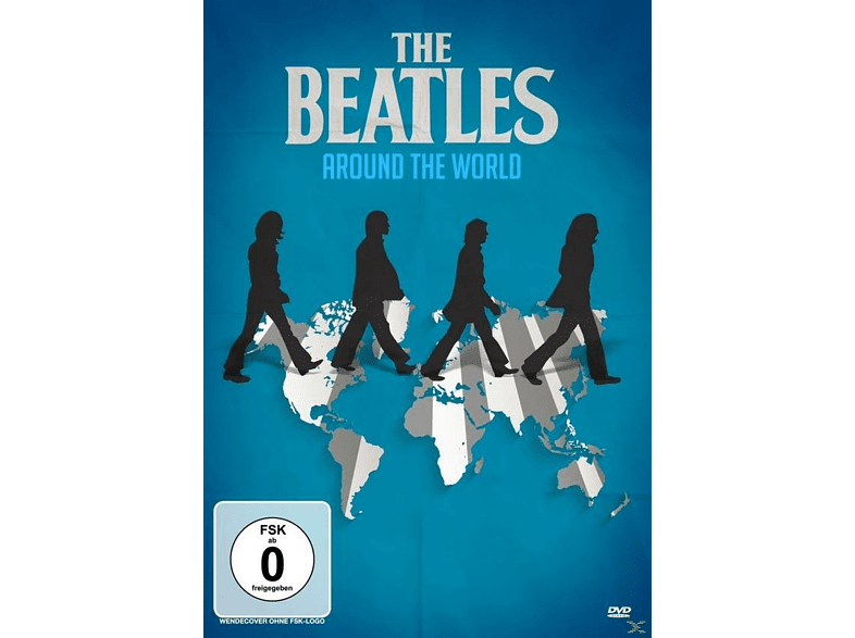 The Beatles - Around the World (In One Year) [DVD]