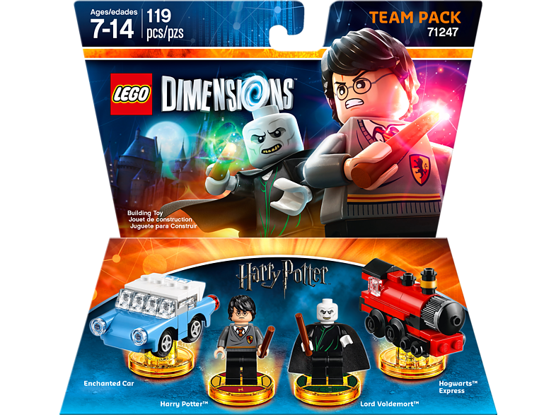Team Pack Harry Potter