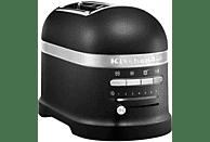 KITCHENAID 5 KMT 2204 Toaster Schwarz (1250 Watt, Schlitze: 2)