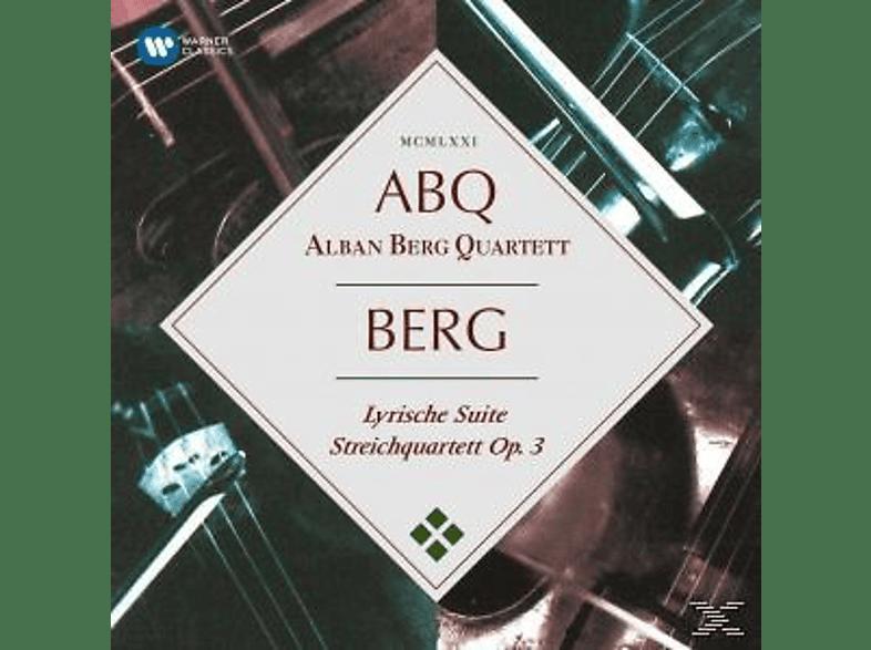 Alban Berg Quartet - Lyrische Suite/Streichquartett op.3 [CD]