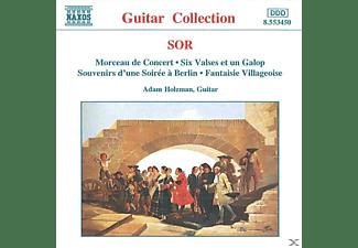 Adam Holzmann - Musik Für Gitarre,op.52+54+56/+  - (CD)
