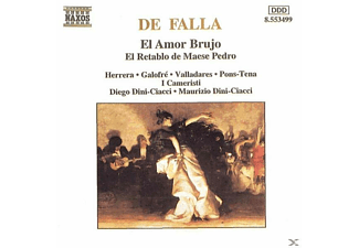 Nancy Fabiola Herrera, Jordi Galofre, Natacha Valladres, Ismael Pons-tena, Maurizio Dini-Ciacci, Diego Dini Ciacci - El Amor Brujo  - (CD)
