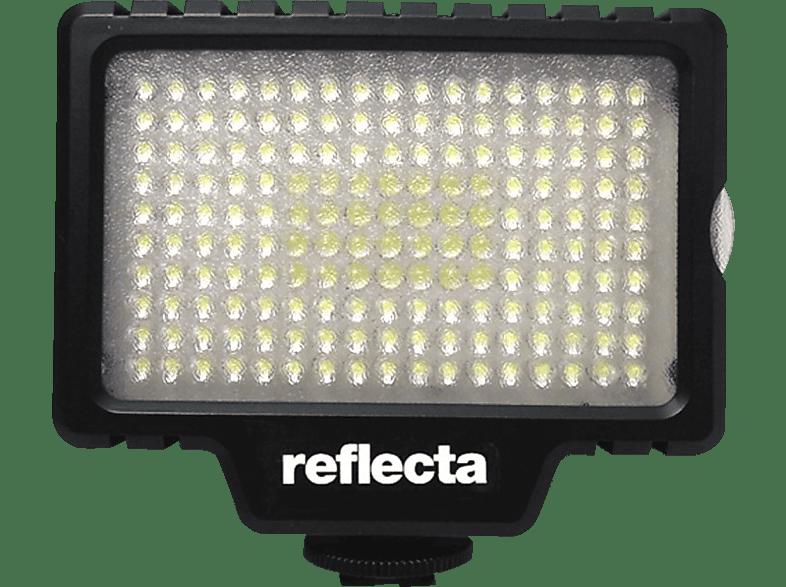REFLECTA LED Videoleuchte RPL 170, Videoleuchte, Schwarz, passend für Kamera, Camcorder