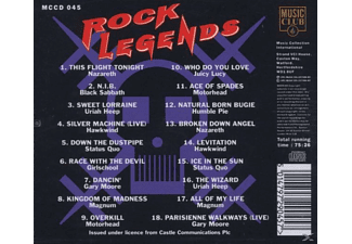 VARIOUS - Rock Legends  - (CD)