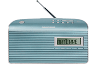 GRUNDIG Music MS 7000 Digitalradio, DAB+, DAB, Mint/Silber