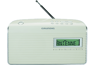 GRUNDIG Music WS 7000 Digitalradio, DAB+, DAB, Weiß/Silber