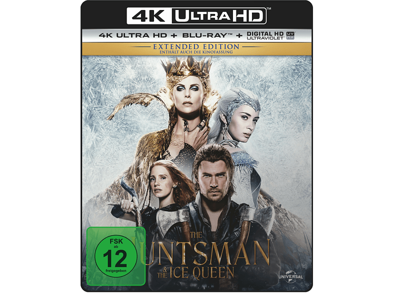 The Huntsman & The Ice Queen (Extended Edition) [4K Ultra HD Blu-ray]
