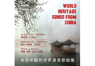 Qilian Chen - World Heritage Songs From China - (CD)