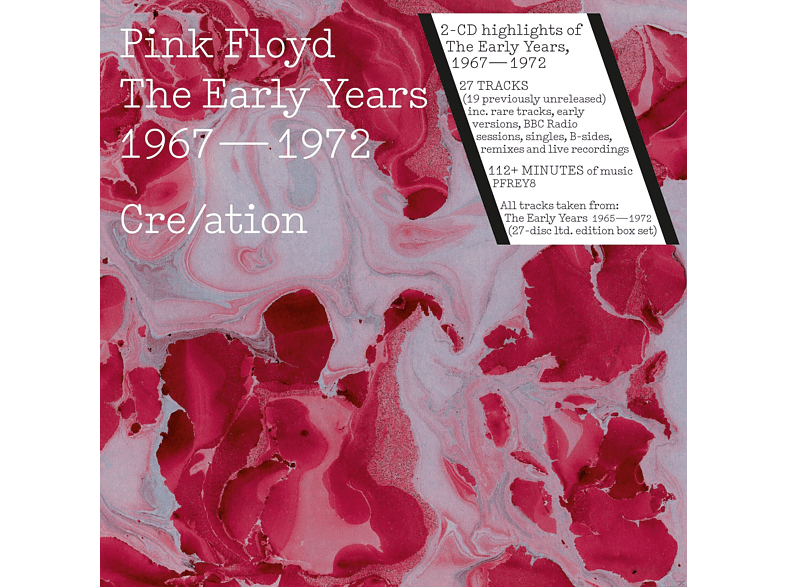 Pink Floyd - The Early Years 1967 – 1972 Cre/ation [CD]