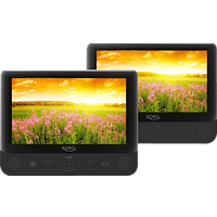 XORO HSD 9912 Tragbarer DVD-Player, Schwarz
