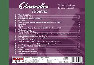 Obermüller Salontrio - Locker vom Hocker  - (CD)
