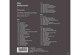 Oslo Philharmonic Orchestra - Romeo And Juliet  - (CD)