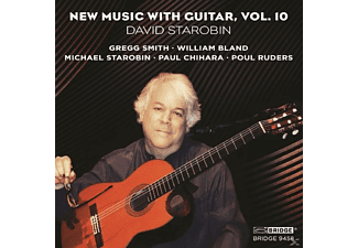 David Starobin - New Music With Guitar Vol.10 - (CD)