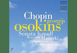 Georgijs Osokins - Sonata b minor & Mazurki op.59 & Berceuse  - (CD)