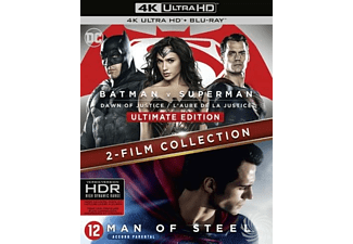 Batman V Superman - Dawn Of Justice + Man Of Steel | 4K Ultra HD Blu-ray