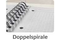 AVERY ZWECKFORM 7015 Kunststoff-Cover Notizbuch DIN A5 kariert
