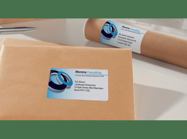 AVERY Zweckform Inkjet Versand Etiketten 99,1 x 57 mm weiß 250 Etiketten
